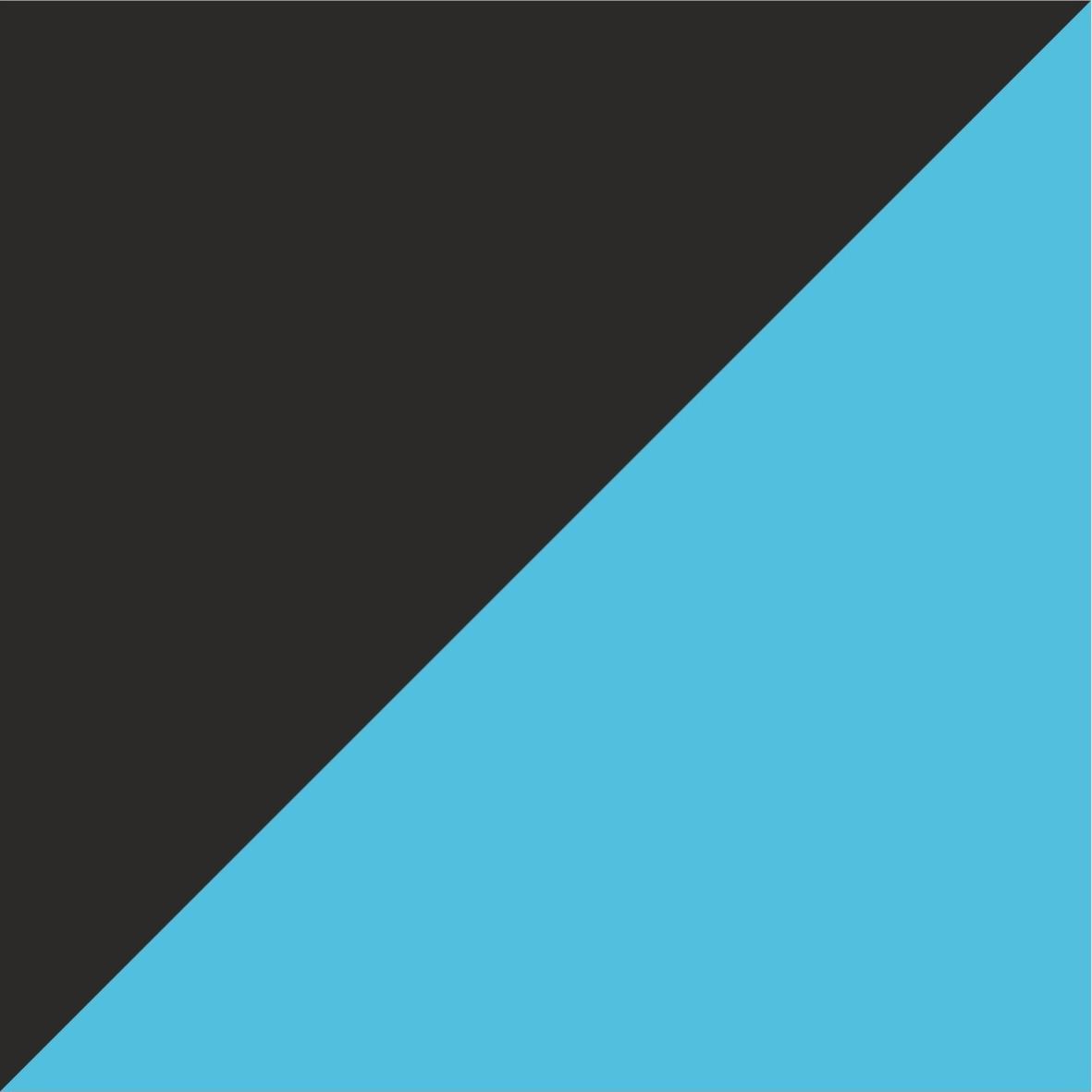 czarno-niebieski neonowy