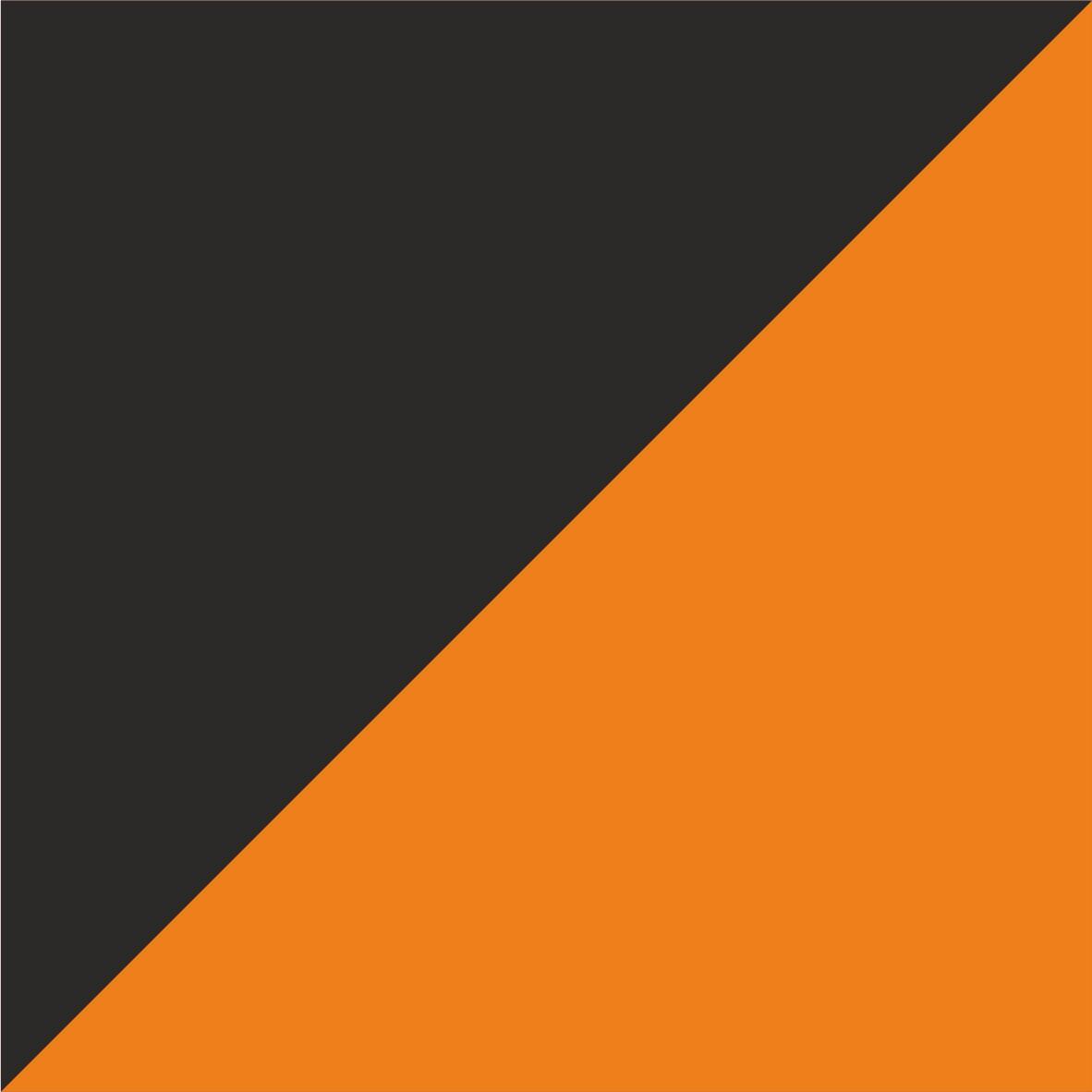 czarno-pomarańczowy